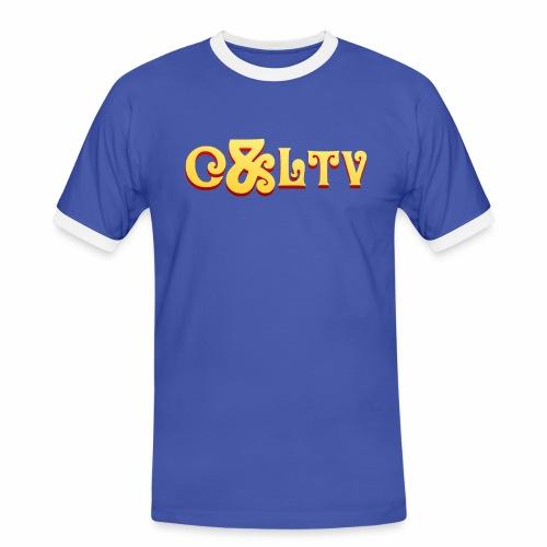 C LTV Logo 2016 png - Men's Ringer Shirt