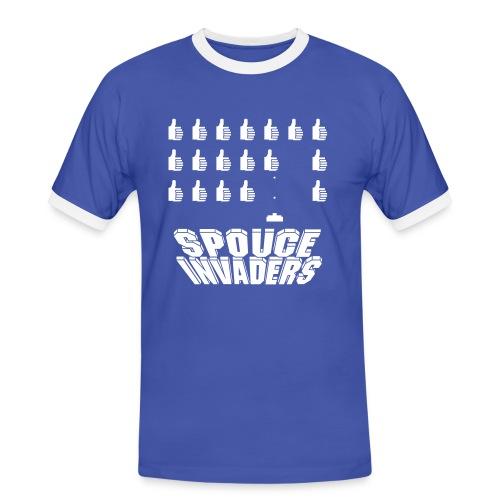 spouceinvaders - T-shirt contrasté Homme