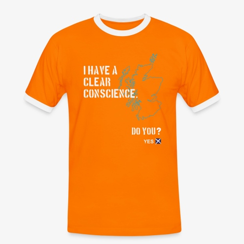 Clear Conscience - Men's Ringer Shirt