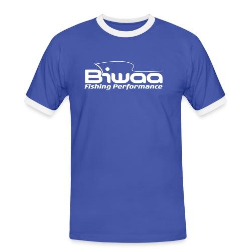 logo biwaa noir sans fond - T-shirt contrasté Homme