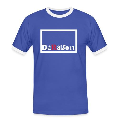 deraisonlogo4cdr11 - Herre kontrast-T-shirt