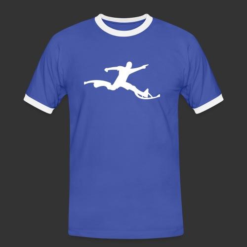 Powerriser - Männer Kontrast-T-Shirt