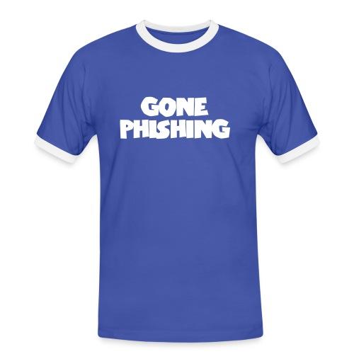 gone phishing2 - Men's Ringer Shirt