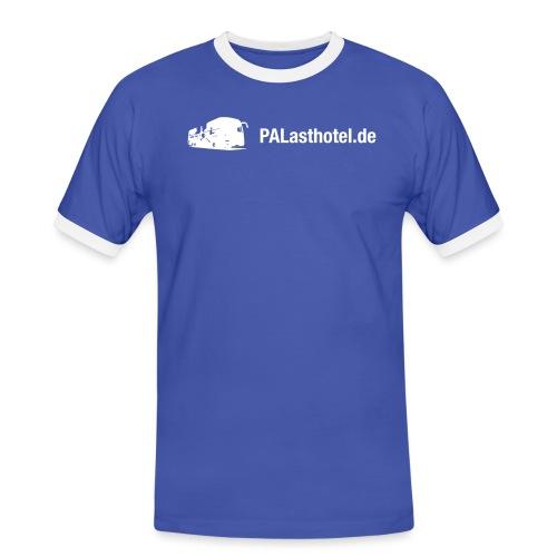 PALasthotel.de MAN - Männer Kontrast-T-Shirt