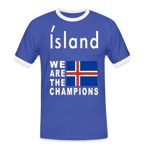 Island Football Champion - Men's Ringer Shirt