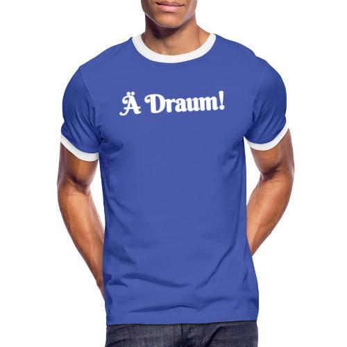 Ä Draum - Männer Kontrast-T-Shirt