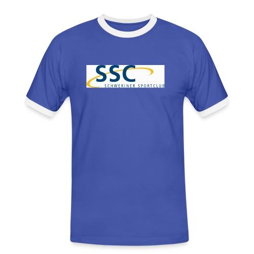 ssclogo - Männer Kontrast-T-Shirt