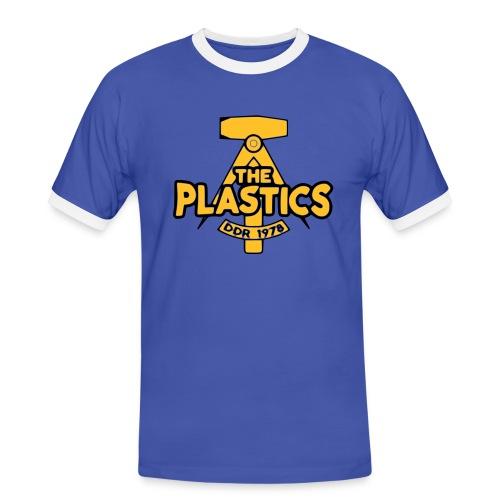plastics_logo - Miesten kontrastipaita
