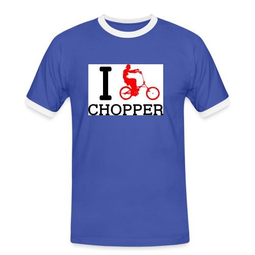 ichopper - T-shirt contrasté Homme
