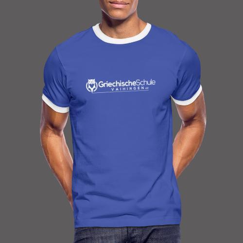 Griechische Schule Vaihingen e.V. - Männer Kontrast-T-Shirt