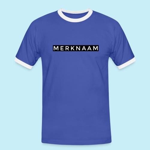 marque - T-shirt contrasté Homme