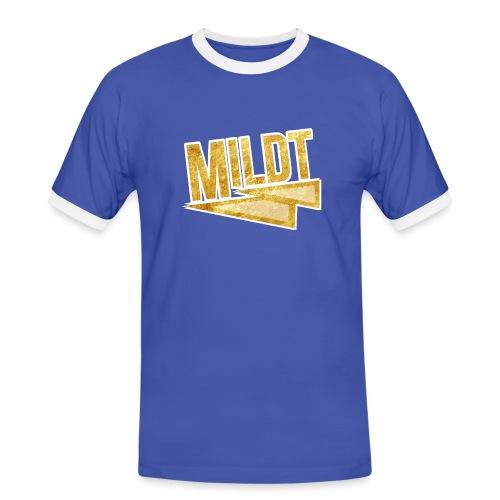 MILDT Gouden Mannen Shirt - Mannen contrastshirt