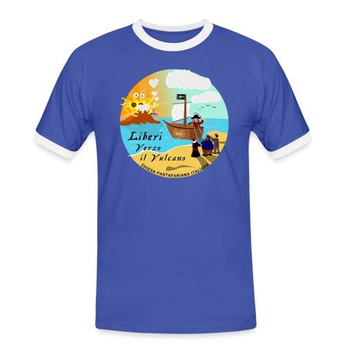 Verso_il_Vulcano_SHOP_DEF - Maglietta Contrast da uomo