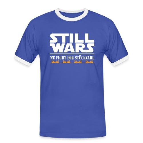 Stillwars - Männer Kontrast-T-Shirt
