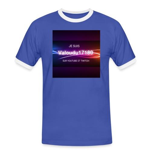 Valoudu17180twitch - T-shirt contrasté Homme