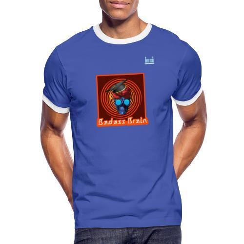 Graduation Day - Badass Brain - Men's Ringer Shirt
