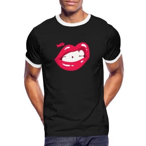 Lips 2020 - T-shirt contrasté Homme
