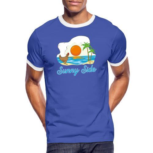 Sunny side - Maglietta Contrast da uomo