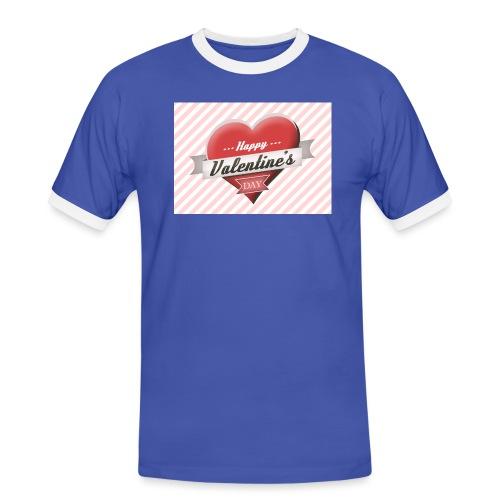 happy valentines day - Men's Ringer Shirt