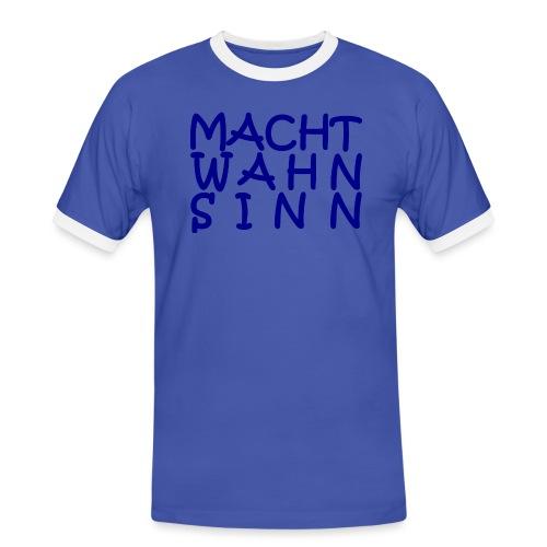 WORTKunstwort 21.1 - Männer Kontrast-T-Shirt