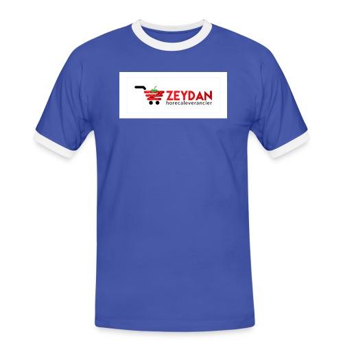 Zeydan - Mannen contrastshirt