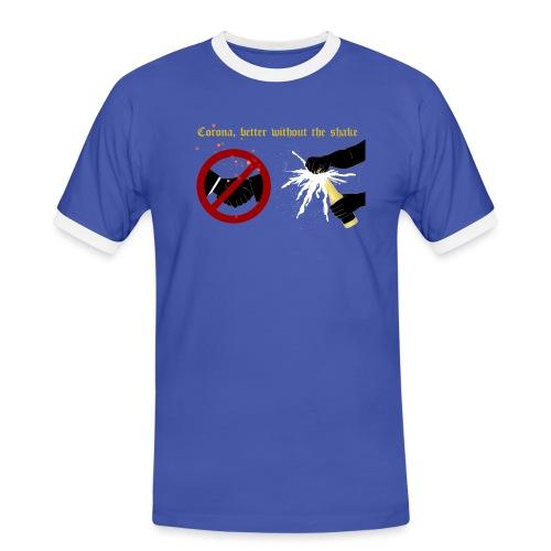 corona - Kontrast-T-shirt herr