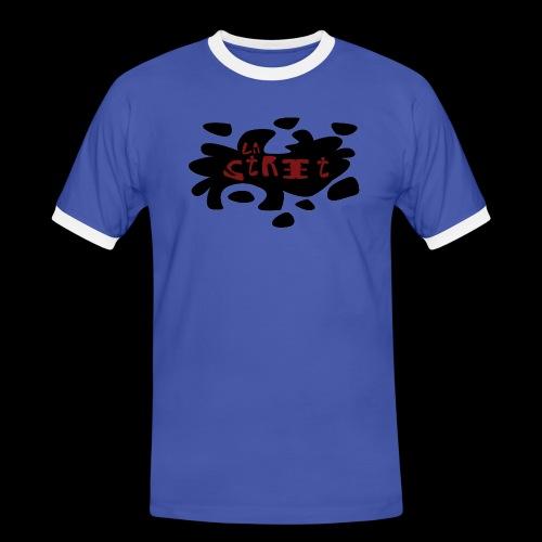 La street officiel - T-shirt contrasté Homme