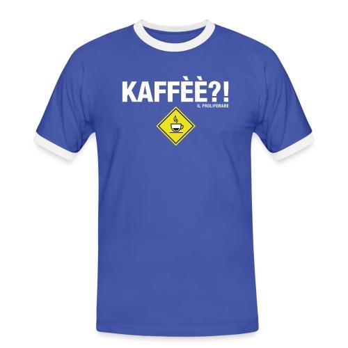 KAFFÈÈ?! by Il Proliferare - Maglietta Contrast da uomo