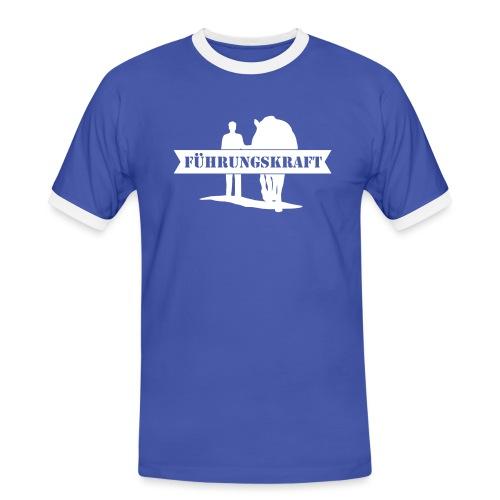 Vorschau: Führungskraft Pferd male - Männer Kontrast-T-Shirt