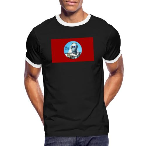 Match 2.0 - Kontrast-T-shirt herr