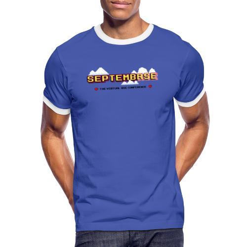 SeptembRSE - Main Conference Logo - Men's Ringer Shirt