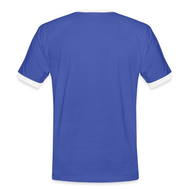 Vorschau: Echte Männer haben Katzen - Männer Kontrast-T-Shirt