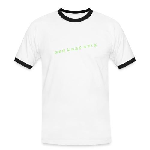 only_sad - Men's Ringer Shirt