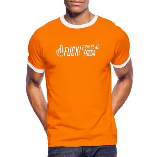 nuova effBIANCAPROVA - Maglietta Contrast da uomo