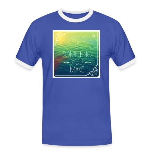 MAGIC - Mannen contrastshirt