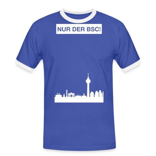 nurderbsc_claim_skyline - Männer Kontrast-T-Shirt