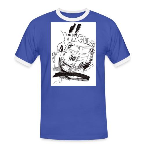 Esafette Course - T-shirt contrasté Homme