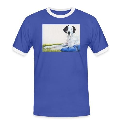 Grand danios harlequin - Herre kontrast-T-shirt
