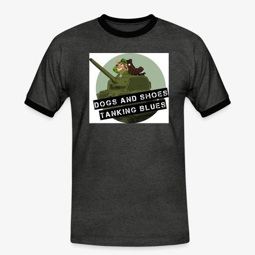 logo dogs nieuw - Mannen contrastshirt