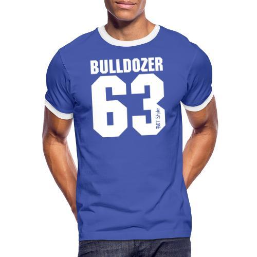 Bulldozer 63 - Maglietta Contrast da uomo