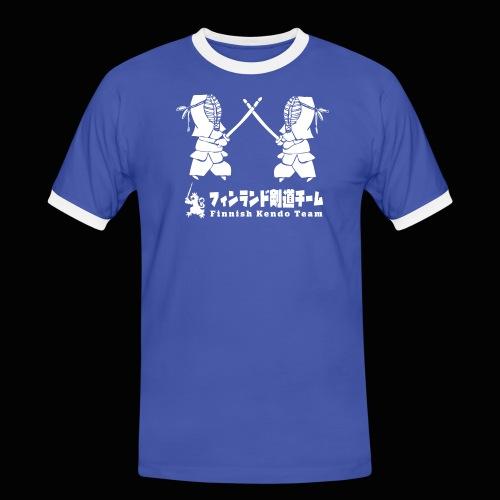 fka team logo white - Miesten kontrastipaita