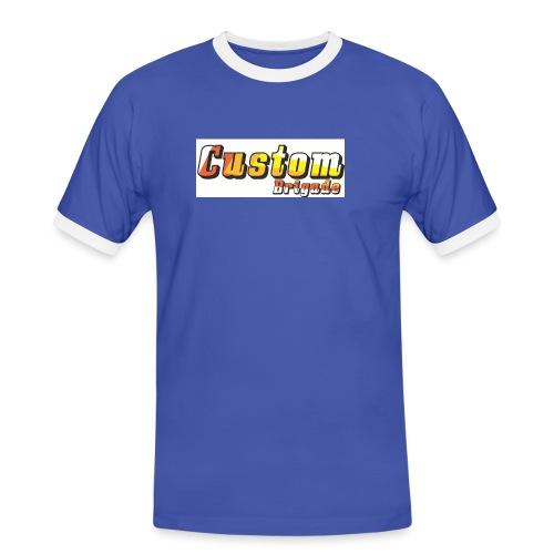 bandecb - T-shirt contrasté Homme