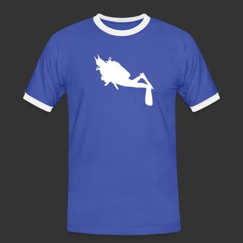Divedevil - Männer Kontrast-T-Shirt