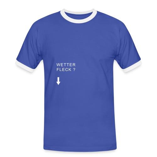 mode wetterfleck - Männer Kontrast-T-Shirt