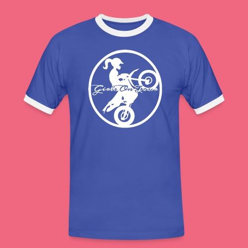 Girls On Tour Hoodie - Mannen contrastshirt
