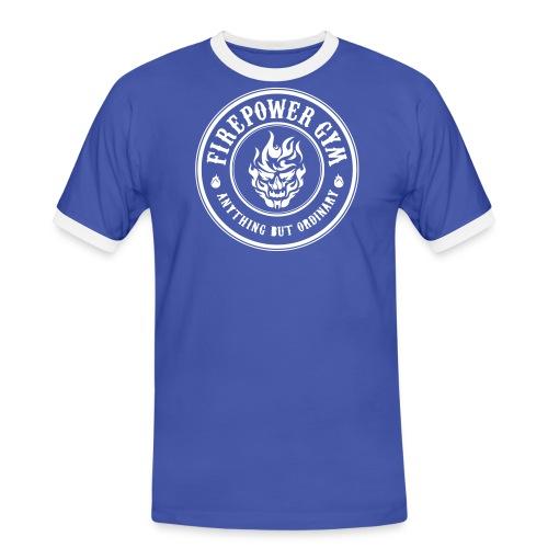 Firepower Gym Logo - Men's Ringer Shirt