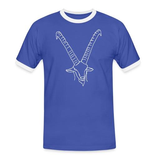steinbock - Männer Kontrast-T-Shirt