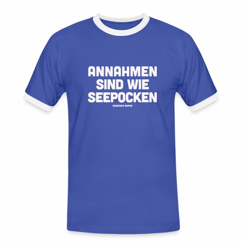 Seepocken - Männer Kontrast-T-Shirt