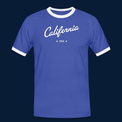 California - Männer Kontrast-T-Shirt