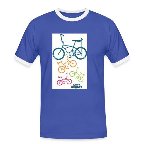 teenbike - T-shirt contrasté Homme